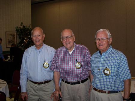 (l to r) Robert Walker, Robert van Doren, and Gettis Wood