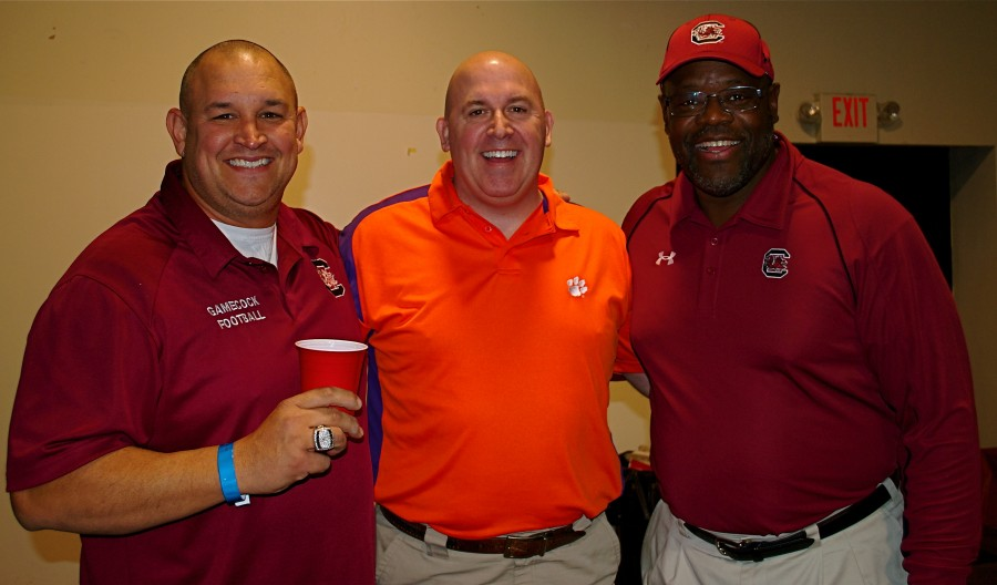 Rod Lorick, Mark Shirley and Willie Scott promoted and attended.  Rod and Willie played at USC.  Mark played at Clemson