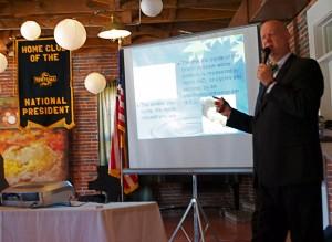 Dr. Fred Mau talks hypnosis