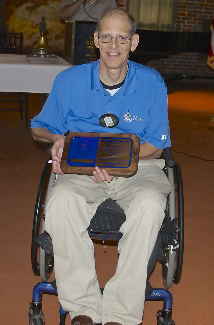 Danny Williams was recognized as the 2013 Sertoman of the Year