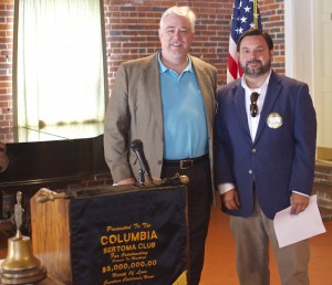 Dan Felker inducted John Adams as President