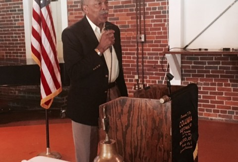 Jim Felder, Civil Rights Hero and Author, Speaks to Sertoma
